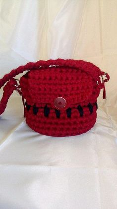 crochet bag/nandmade bag/small round bag/everyday bag