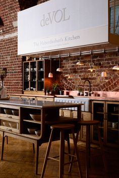 The Haberdasher's kitchen by deVOL