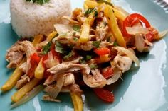 Jeff Tunks's Peruvian Chicken Stir-Fry Recipe Details | Recipe database | washingtonpost.com