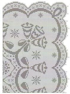 Фото, автор liubov.brajuk на Яндекс.Фотках Doily Patterns, Cross Stitch Patterns, Crochet Patterns, Filet Crochet Charts, Crochet Borders, Crochet Tablecloth Pattern, Crochet Doilies, Crochet Carpet, Fillet Crochet
