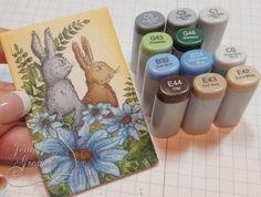 One Krafty Kat: Impression Obsession - Bunny Friends