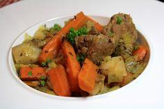 Sauté d'agneau aux légumes