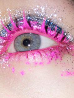 #makeupbrutalism