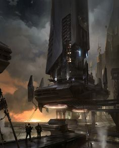 ideas for concept art environment cityscapes sci fi Environment Concept Art, Environment Design, Sci Fi City, Concept Art World, Concept Cars, Futuristic City, Futuristic Vehicles, Cities, World Of Darkness