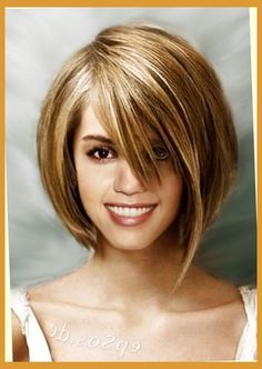 Short Hair Cuts For Fat Women 1 inside short haircuts for fat round faces Pertaining to Warm