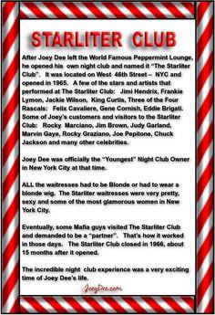 Joey Dee & The Starliters - Peppermint Twist - Peppermint Lounge - Starlighters - Rock N Roll - Doo Wop - Oldies - Golden Oldies - Music - Steve Kulyk
