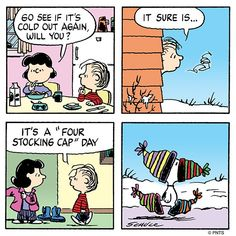 Snoopy keeping warm from all sides ~ with Linus & Lucy Snoopy Comics, Cute Comics, Peanuts Cartoon, Peanuts Snoopy, Peanuts Comics, Snoopy Cartoon, Lucy Van Pelt, Snoopy Wallpaper, Snoopy Quotes