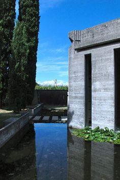 Carlo Scarpa. Brion-Vega Cemetery. Near Treviso Italy. 1970-2
