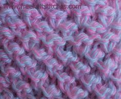 Knobs knitting stitches