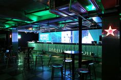 Heineken Draught House_  Design by andbut space design