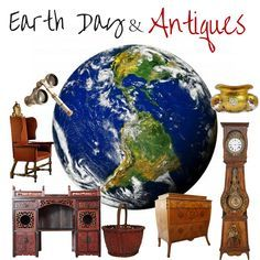 Image result for antiques earth day