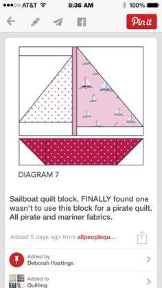 Quilt Block Patterns, Pattern Blocks, Quilt Blocks, Nautical Baby Quilt, Flannel Quilts, Fat Quarter Quilt, Baby Boy Quilts, Foundation Paper Piecing, Custom Quilts