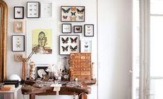 C'est l'atelier de mon amie Lara Melchior, qui l'une des seules créatrices de bijoux que je connais qui travaille encore chaque pièce à la main. - Garance Dore