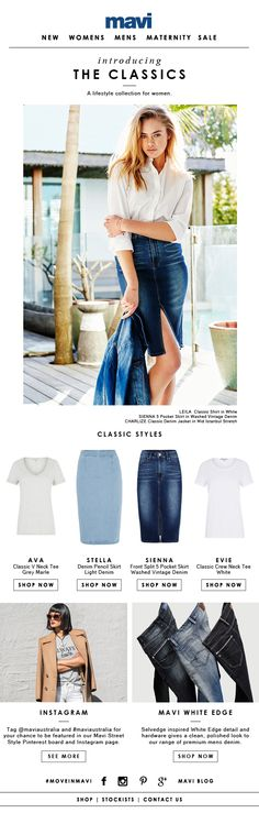 This just in: new lifestyle collection for women Sporty, Lifestyle, Denim, Polyvore, Shopping, Collection, Women, Fashion, Moda