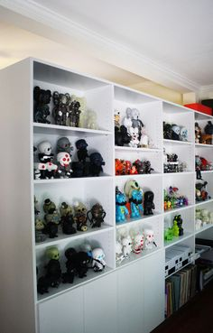 vinyl toy collection