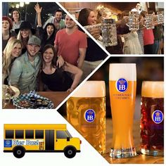 """IT'S BACK  The Hofbrau College Night Bier Bus!  Thursdays we will have the """"Bier Bus"""" coming from campus and dropping off at Hofbräuhaus Columbus. Come have a great time and enjoy the live entertainment and contests!  The Bier Bus will run 9pm to 12:00am picking up and dropping off at 1739 North High Street the Ohio Union every 30 minutes in the half circle driveway. The bus will pickup on campus at 9 9:30 10 10:30 and 11.  The last bus will depart HB at 12 midnight  FREE RIDE - 21 and…"""