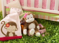 1000 Images About Pink And Green Monkey Nursery On