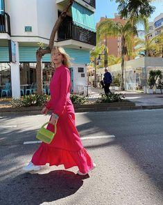 Elsa Ekman in Studio onyva Alexa dress Elsa, Studio, Formal Dresses, Red, Fashion, Daughters, Moda, Formal Gowns, Studios
