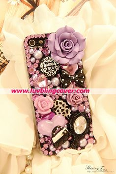 ANNA SUI iphone 5 cover-- pretty crazy but cool , want !