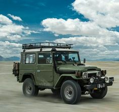 Land Cruisers and Land Rovers