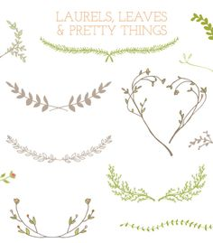 Laurel Wreath Clip Art Vector | angiemakes.com
