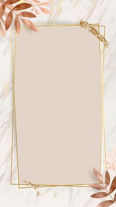 iPhone Wallpaper Obtain premium picture of Leafy golden rectangle body vector by nunny about backgro Flower Background Wallpaper, Framed Wallpaper, Phone Screen Wallpaper, Cute Wallpaper Backgrounds, Pretty Wallpapers, Tumblr Wallpaper, Flower Backgrounds, Aesthetic Iphone Wallpaper, Background Patterns