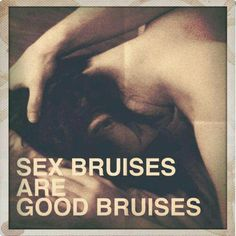 Sex bruises