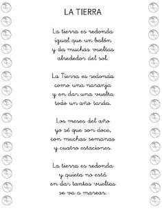 "Poesía ""LA TIERRA"" Bilingual Classroom, Classroom Labels, Bilingual Education, Spanish Classroom, Classroom Ideas, Teaching Poetry, Teaching Spanish, Preschool Poems, Planet For Kids"