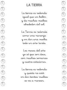 """Poesía """"LA TIERRA"""""""