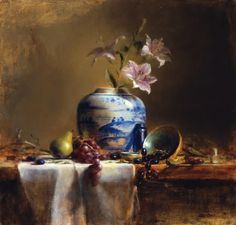 Still Life Oil Paintings | Oil Painting: Ellen Buselli: Observing Carefully, Thinking Abstractly ...