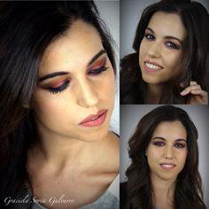 El maquillaje de hoy fue Glossy con Aibrush*****Die Make up von heute war  Glossy mit Aibrush