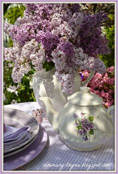 Rosemary and Thyme: The Gift of Lilacs