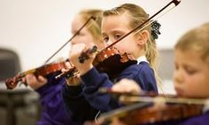 Music is at the very heart of one East End school