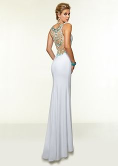97013 Prom Dresses / Gowns Jersey and Stretch Mesh with Jeweled Beading Junior Prom Dresses, Straps Prom Dresses, Sweetheart Wedding Dress, Bridal Wedding Dresses, Plus Size Formal Dresses, Long Dresses, Chiffon Evening Dresses, Designer Prom Dresses, Beautiful Gowns