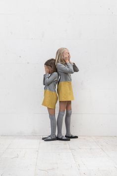 Grey+yellow. #kids #fashion #estella galletasdeante.com