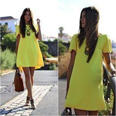 Sheinside Dress, Massimo Dutti Bag