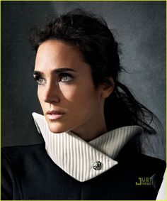 Jennifer Connelly by Mark Abrahams for InStyle
