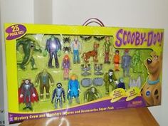 Scooby Doo Mystery Crew & Monster 17 Figures Mega Playset - Friends & Foes NEW Scooby Doo Toys, Scooby Doo Mystery Inc, Kid Movies, The Villain, Retro, Action Figures, Kids, Children, Ghosts