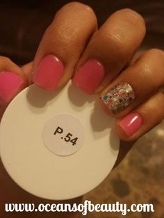 P.54 & Craft Glitter EZdip Gel Powder. DIY EZ Dip. No lamps needed, lasts 2-3 weeks! Salon Quality done right in your own home! For updates, customer pics, contests and much more please like us on Facebook https://www.facebook.com/EZ-DIP-NAILS-1523939111191370/ #ezdip #ezdipnails #diynails #naildesign #dippowder #gelnails #nailpolish #mani #manicure #dippowdernails