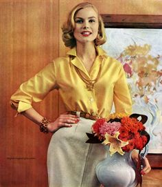 Adelaarシャツファッション広告、1958