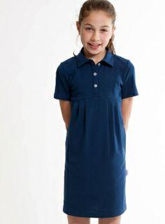 Maak dit blauwe jurkje bijzonder en versier het zelf bij Little Stylist. Ga snel naar de Ontwerp Studio: www.littlestylist.com. #girlsfashion #littlefashionista #kidsfashion #littlestylist #fashiondiy #girlscloths