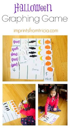 Halloween Graphing Game (from Imprints From Tricia)