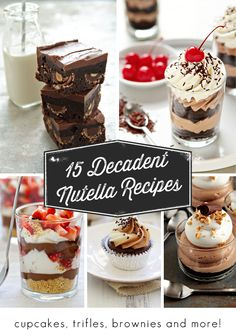 15 Incredible Ways to Make Nutella More Awesome | My Baking Addiction