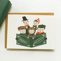 The cutest holiday cards. $19 for a set of 10.