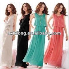 el último elegante bohenmia plisada largo maxi vestidos de verano-XL Falda-Identificación del producto:603410351-spanish.alibaba.com