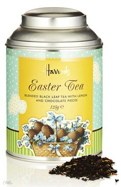The most expensive tea? Well...it is from HARRODS!  Easter Tea