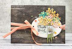 All Stars December Blog Hop - Beautiful Bouquet!