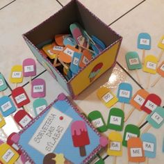 Psp, Games, Crafts, Learning Activities For Kids, Kids Activity Ideas, Preschool Learning Activities, Preschool Education, Index Cards, Classroom
