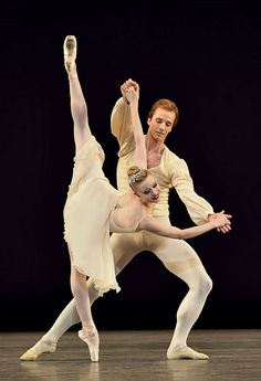 Sara Mearns and Ask la Cour, New York City Ballet