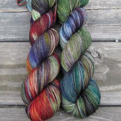 Bat S**t Crazy - Yummy 2-Ply - Babette | Miss Babs Hand-Dyed Yarns & Fibers, Inc.